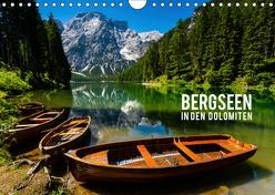 Bergseen in den Dolomiten (Wandkalender 2019 DIN A4 quer) von Gospodarek,  Mikolaj