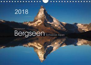 BERGSEEN Schweizer Alpen (Wandkalender 2018 DIN A4 quer) von Koch,  Lucyna