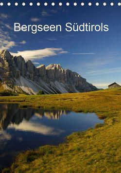 Bergseen Südtirols (Tischkalender 2019 DIN A5 hoch) von G.,  Piet