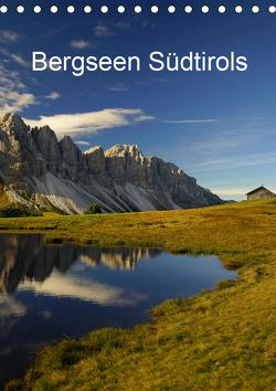 Bergseen Südtirols (Tischkalender 2021 DIN A5 hoch) von G.,  Piet