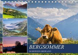 Bergsommer im Berner Oberland (Tischkalender 2018 DIN A5 quer) von Caccia,  Enrico