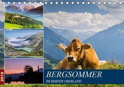 Bergsommer im Berner Oberland (Tischkalender 2019 DIN A5 quer) von Caccia,  Enrico