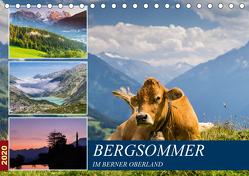 Bergsommer im Berner Oberland (Tischkalender 2020 DIN A5 quer) von Caccia,  Enrico