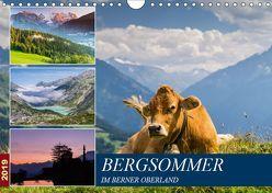 Bergsommer im Berner Oberland (Wandkalender 2019 DIN A4 quer) von Caccia,  Enrico