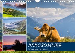 Bergsommer im Berner Oberland (Wandkalender 2020 DIN A4 quer) von Caccia,  Enrico