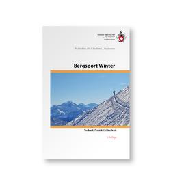 Bergsport Winter von Brehm,  Hans P, Haltmeier,  Jürg, Winkler,  Kurt