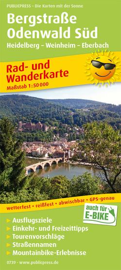 Bergstraße Odenwald Süd, Heidelberg – Weinheim – Eberbach