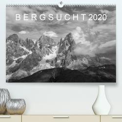 Bergsucht 2020 (Premium, hochwertiger DIN A2 Wandkalender 2020, Kunstdruck in Hochglanz) von Kehl,  Michael