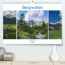 Bergwelten (Premium, hochwertiger DIN A2 Wandkalender 2020, Kunstdruck in Hochglanz) von Gierok,  Steffen