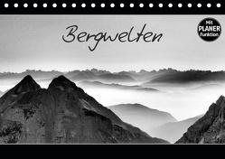 Bergwelten (Tischkalender 2020 DIN A5 quer) von Gernhardt,  Sonja