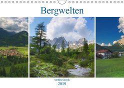 Bergwelten (Wandkalender 2019 DIN A4 quer) von Gierok,  Steffen