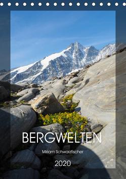 Bergwelten Wandkalender (Tischkalender 2020 DIN A5 hoch) von Miriam Schwarzfischer,  Fotografin