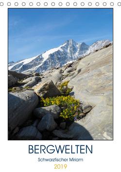 BergweltenAT-Version (Tischkalender 2019 DIN A5 hoch) von Miriam Schwarzfischer,  Fotografin