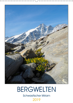 BergweltenAT-Version (Wandkalender 2019 DIN A2 hoch) von Miriam Schwarzfischer,  Fotografin