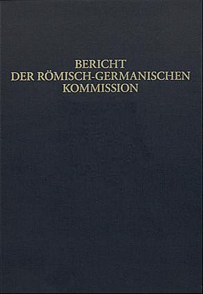 Bericht der Römisch-Germanischen Kommission 97 (2016)