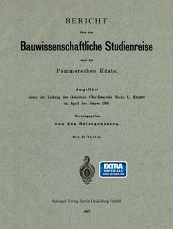 Bericht über eine Bauwissenschaftliche Studienreise nach der Pommerschen Küste von Hagen,  L
