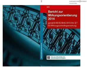 Bericht zur Wirkungsorientierung 2014 von Bundeskanzleramt,  Österreich