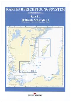 Berichtigung Sportbootkarten Satz 11: Ostküste Schweden 1 (Ausgabe 2021)