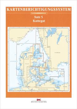 Berichtigung Sportbootkarten Satz 5: Kattegat (Ausgabe 2020)