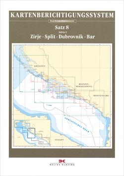 Berichtigung Sportbootkarten Satz 8: Adria 2 (Ausgabe 2021)