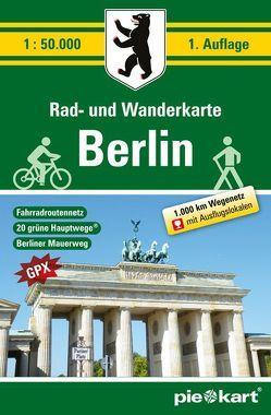 Berlin 1 : 50.000 Rad- und Wanderkarte
