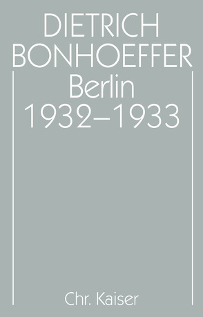 Berlin 1932-1933 von Nicolaisen,  Carsten, Scharffenorth,  Ernst-Albert