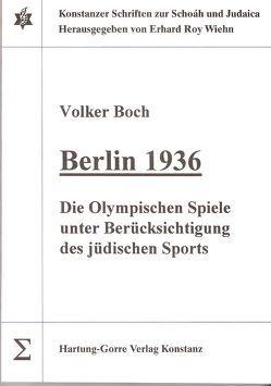 Berlin 1936 von Boch,  Volker, Wiehn,  Erhard R