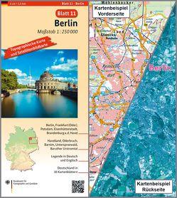 Berlin von BKG - Bundesamt für Kartographie und Geodäsie