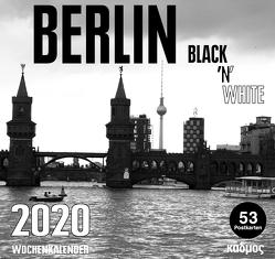 Berlin Black 'N' White Kalender (2020) von Burckhardt,  Wolfram