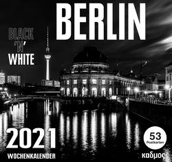 Berlin Black 'N' White Kalender (2021) von Burckhardt,  Wolfram