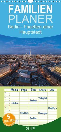 Berlin – Facetten einer Hauptstadt – Familienplaner hoch (Wandkalender 2019 , 21 cm x 45 cm, hoch) von Claude Castor I 030mm-photography,  Jean