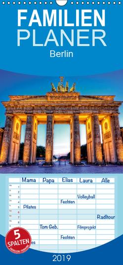 Berlin – Familienplaner hoch (Wandkalender 2019 , 21 cm x 45 cm, hoch) von Will,  Markus