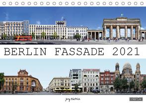 Berlin Fassade (Tischkalender 2021 DIN A5 quer) von Dietrich,  Jörg