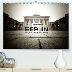 Berlin – Fotografie mit der Camera obscura (Premium, hochwertiger DIN A2 Wandkalender 2020, Kunstdruck in Hochglanz) von Haupthoff,  Manfred