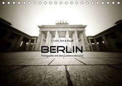 Berlin – Fotografie mit der Camera obscura (Tischkalender 2019 DIN A5 quer) von Haupthoff,  Manfred