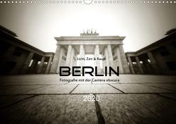 Berlin – Fotografie mit der Camera obscura (Wandkalender 2020 DIN A3 quer) von Haupthoff,  Manfred