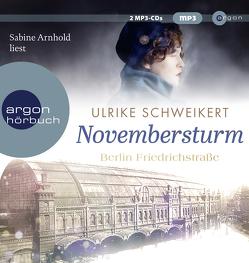 Berlin Friedrichstraße: Novembersturm von Arnhold,  Sabine, Schweikert,  Ulrike