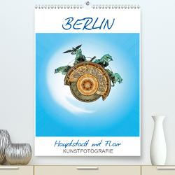 Berlin – Hauptstadt mit Flair (Premium, hochwertiger DIN A2 Wandkalender 2021, Kunstdruck in Hochglanz) von Ruffinengo,  Rolando