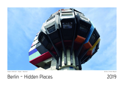 Berlin – Hidden Places 2019 Kalender von Wagner,  Christian