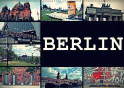 BERLIN horizontal (Wandkalender 2018 DIN A2 quer) von Büttner,  Stephanie