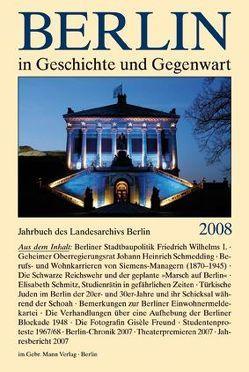 Berlin in Geschichte und Gegenwart von Schaper,  Uwe