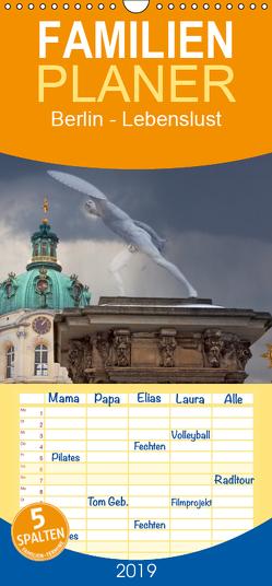 Berlin – Lebenslust – Familienplaner hoch (Wandkalender 2019 , 21 cm x 45 cm, hoch) von boeTtchEr,  U