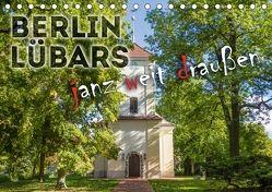 BERLIN LÜBARS janz weit draußen (Tischkalender 2018 DIN A5 quer) von Viola,  Melanie