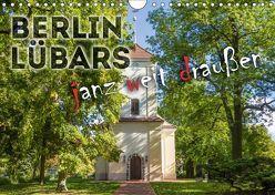 BERLIN LÜBARS janz weit draußen (Wandkalender 2018 DIN A4 quer) von Viola,  Melanie