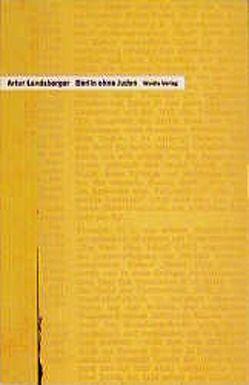 Berlin ohne Juden von Fuld,  Werner, Landsberger,  Artur