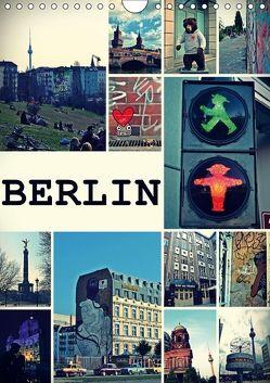 BERLIN / Planer (Wandkalender 2018 DIN A4 hoch) von Büttner,  Stephanie