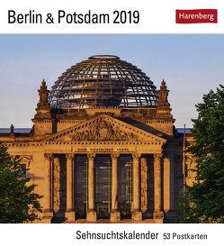Berlin & Potsdam – Kalender 2019 von Harenberg, Layda,  Siegfried
