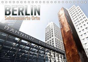 BERLIN Sehenswerte Orte (Tischkalender 2018 DIN A5 quer) von Viola,  Melanie