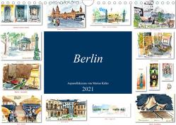 Berlin-Skizzen (Wandkalender 2021 DIN A4 quer) von Kirko,  Marisa