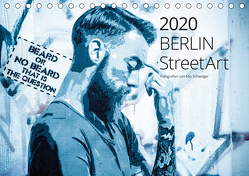 Berlin StreetArt 2020 (Tischkalender 2020 DIN A5 quer) von Schweiger,  Mio